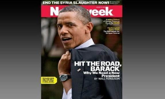 Newsweek COVER!!! It is their last cover before they fold.
